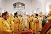 Святейший Патриарх Кирилл совершил утреню всенощного бдения в Иверском монастыре Ростова-на-Дону