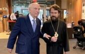 Митрополит Волоколамский Иларион встретился с президентом фонда «Призыв совести» раввином Артуром Шнайером
