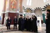 Святейший Патриарх Кирилл посетил Благовещенский греческий храм Ростова-на-Дону