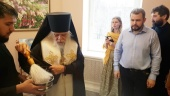 Епископ Орехово-Зуевский Пантелеимон освятил патоморфологическую лабораторию в московской больнице святителя Алексия