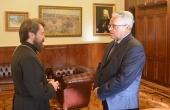 Состоялась встреча председателя ОВЦС с новоназначенным послом России в Албании