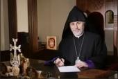 Поздравление Святейшего Патриарха Кирилла архиепископу Езрасу Нерсисяну с 60-летием со дня рождения