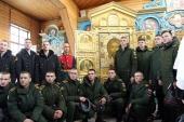 В Благовещенскую епархию принесена главная икона Вооруженных сил России «Спас Нерукотворный»