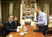 Состоялась встреча председателя Синодального отдела по взаимоотношениям Церкви с обществом и СМИ с американским православным публицистом Родом Дреером