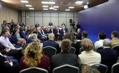 На встрече с Президентом Российской Федерации представитель Синодального отдела по благотворительности подняла вопрос о важности профилактики абортов