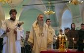 В Высоко-Петровском ставропигиальном монастыре молитвенно почтили память протоиерея Глеба Каледы в день 25-летия его преставления