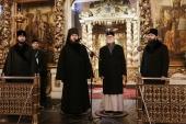 Делегация Архиепископии западноевропейских приходов русской традиции посетила Донской монастырь