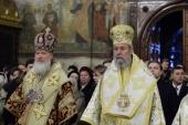 Поздравление Святейшего Патриарха Кирилла Предстоятелю Кипрской Церкви с годовщиной избрания на престол Блаженнейших Архиепископов Кипрских