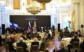 Предстоятель Русской Церкви посетил государственный прием в Кремле по случаю Дня народного единства