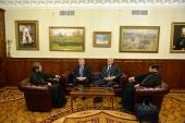 Председатель ОВЦС встретился с руководством Российского союза евангельских христиан-баптистов