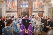 В Воскресенском Новодевичьем монастыре Санкт-Петербурга прошли торжества, посвященные 170-летию со дня основания обители
