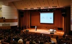 Святейший Патриарх Кирилл провел пленарное заседание II съезда Общества русской словесности