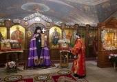 В Зачатьевском ставропигиальном монастыре молитвенно почтили память священномученика Владимира Амбарцумова