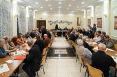 Патриарший экзарх всея Беларуси возглавил отчетно-выборное собрание Братства Виленских мучеников