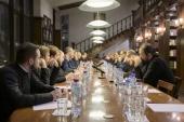 В Сретенской духовной семинарии прошел круглый стол «Искусственный интеллект — взгляд ученых и оценка Церкви»