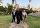 Руководитель Управления Московской Патриархии по зарубежным учреждениям посетил русские участки в Иерихоне