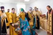 Патриарший экзарх всея Беларуси освятил новый корпус Дома трудолюбия при Елисаветинском женском монастыре города Минска
