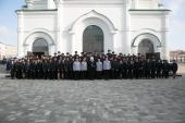 В соборе Рождества Богородицы в Ростове на-Дону совершена первая после великого освящения Литургия архиерейским чином