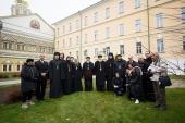 Делегация Коптской Церкви посетила Московскую духовную академию