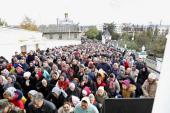 В Почаевской лавре состоялись торжества по случаю дня памяти преподобного Иова