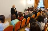 Председатель Синодального отдела по благотворительности открыл очередные курсы помощников больничных священников
