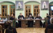 В Московской духовной академии состоялось заседание Ученого совета