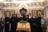 Делегация Коптской Церкви посетила Общецерковную аспирантуру и докторантуру