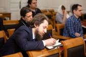 В Общецерковной аспирантуре началась программа повышения квалификации, посвященная организации епархиальной издательской деятельности
