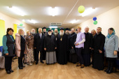 Патриарший экзарх всея Беларуси совершил рабочую поездку в агрогородок Бычиха