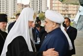 Святейший Патриарх Кирилл прибыл в Баку