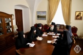 Состоялось заседание Совета Русской духовной миссии в Иерусалиме