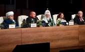 Patriarch Kirill takes part in opening of 2nd Summit of World Religious Leaders in Baku