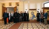 Делегация Коптской Церкви посетилаСвято-Тихоновский университет