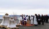 Освящены колокола Камчатского морского собора