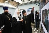 Святейший Патриарх Кирилл посетил собор Рождества Пресвятой Богородицы в Баку