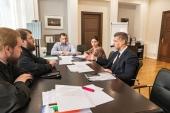 Председатель Финансово-хозяйственного управления Московского Патриархата встретился с заместителем министра культуры РФ