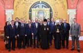 Святейший Патриарх Кирилл встретился со слушателями Высших дипломатических курсов