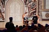 Состоялась встреча Святейшего Патриарха Кирилла с рукоположенными им священнослужителями