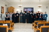 В Общецерковной аспирантуре завершилась программа повышения квалификации для издателей православной литературы