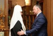 Mesajul de felicitare al Președintelui Republicii Moldova I.N. Dodon adresat Sanctității Sale Patriarhul Chiril cu prilejul zilei de naștere