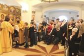 В Камчатском морском соборе совершено богослужение для подопечных дома-интерната психоневрологического типа