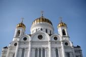 В Храме Христа Спасителя состоялся прием по случаю визита Блаженнейшего Патриарха Иерусалимского Феофила III