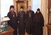Представители Межведомственной комиссии по вопросам образования монашествующих посетили Псковскую епархию