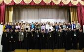 Председатель Синодального отдела по делам молодежи принял участие в молодежном православном форуме в Чебоксарах