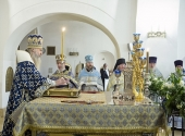 В Зачатьевском монастыре состоялось празднование 20-летия перенесения чудотворной иконы Божией Матери «Милостивая» в обитель