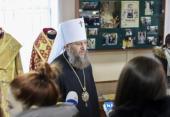 В музее Киевской духовной академии открылась выставка, посвященная Блаженнейшему митрополиту Владимиру (Сабодану)