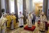 Глава Санкт-Петербургской митрополии освятил домовый храм в Инженерном замке Северной столицы