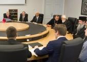 Митрополит Таллинский Евгений встретился с премьер-министром Эстонии Юри Ратасом