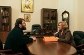 Состоялась встреча председателя Финансово-хозяйственного управления с представителем департамента аппарата полномочного представителя Президента РФ в ЦФО
