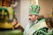 Блаженнейший митрополит Киевский Онуфрий: Смиренно молиться, славить Рождество Христово — этим мы будем свидетельствовать, что мы Его дети